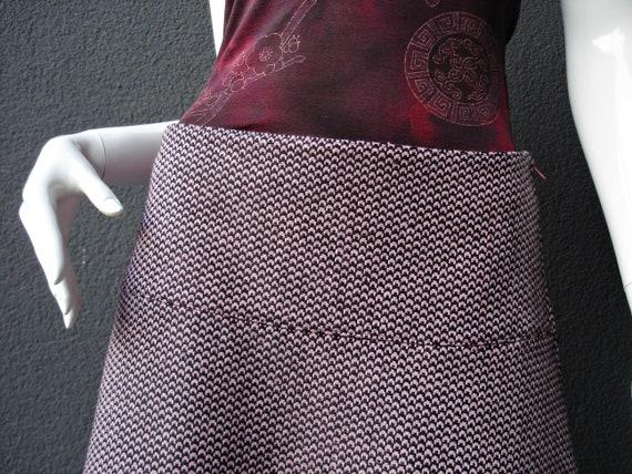 36 gr black Wool Pink size pink skirt skirt Wool S black ntqAIpT