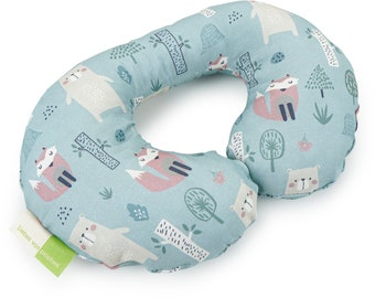 Love of Priebes, Neck Squirrel, Car Travel Pillow, Neck Pillow, Travel, Child, DIETER, foret