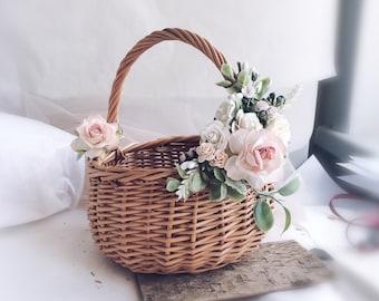 Flower girl basket   Etsy