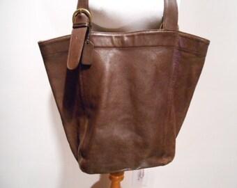 819cb81ffd5a Coach Brown Soho Shopper Shoulder Tote Bag Purse