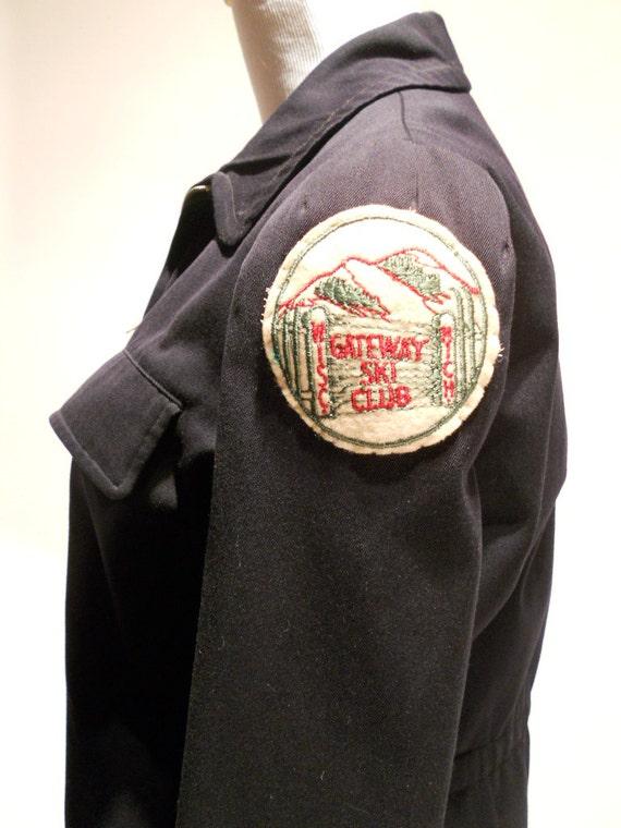 Vintage Ski Jacket or Coat, Beautifully Fitted Gat