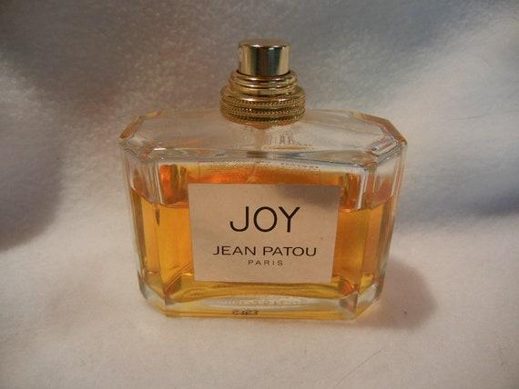Vintage JOY de JEAN PATOU Paris Perfume