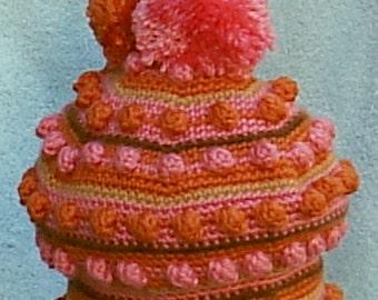 Pink Lollypop - a beret