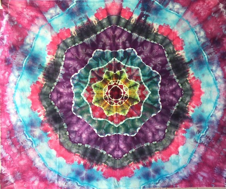 Tapestry Wall Art Home Decor Tie Dye Festival Hippie