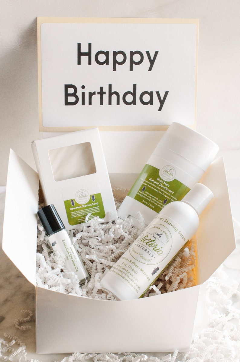 Birthday Gift For Him Man Spa Set Bath Body