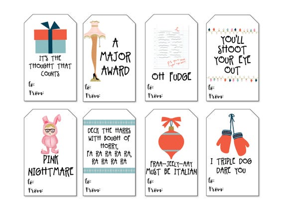 photo about Printable Holiday Gift Tags named Xmas Tale Present Tags, Printable Xmas Present Tags, Electronic Xmas Reward Tags, Vacation Present Tags, Present Tags, Printable