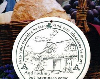 Celtic Cottage Porcelain Bread Warmer
