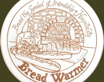 French Hearth Porcelain Bread Warmer