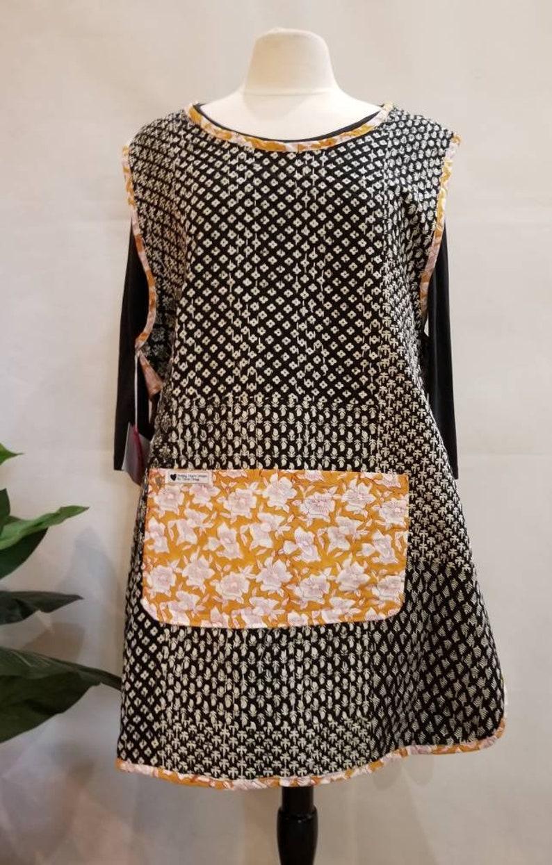 LgWonderful Womens reversible  Kantha Tunic Size Large 14-16 image 0