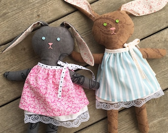 Brown Bunny Doll
