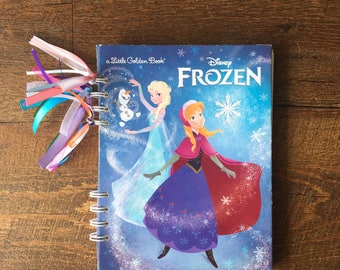 Frozen Disney Autograph Book - Frozen Autograph book - Elsa and Anna Autograph Book -  Frozen Journal with blank pages