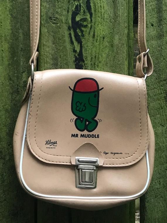 Vintage Mr Muddle Mr Man child's handbag