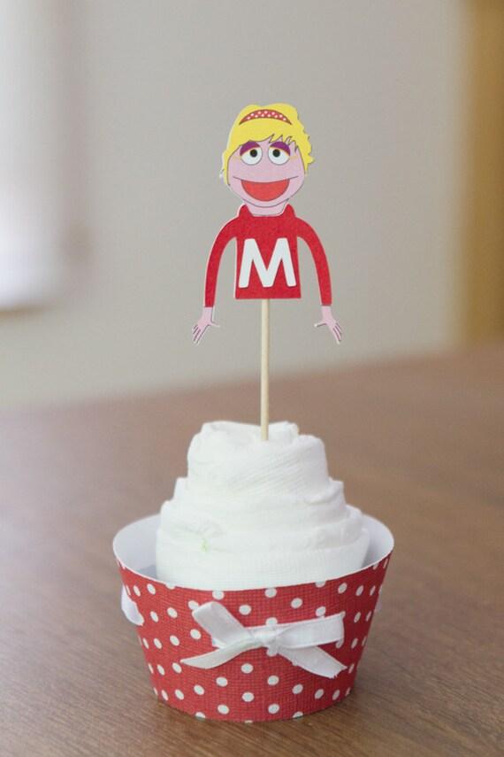 Puppet Mittens Cupcake