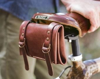 Leather Bike Tool kit Roll