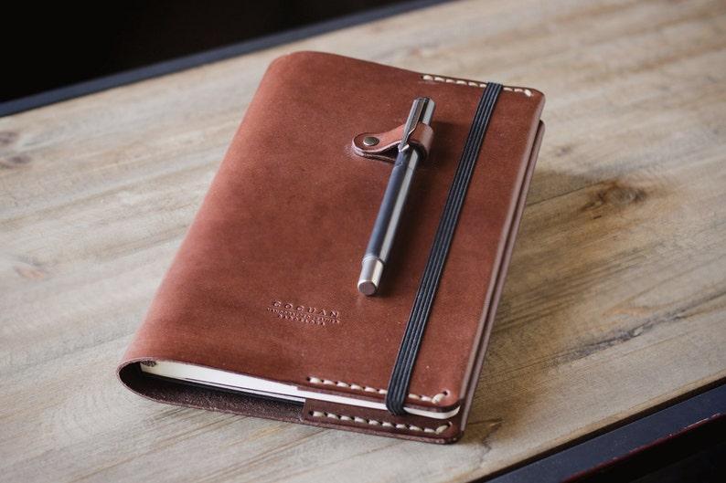 Leather Moleskine cover image 0