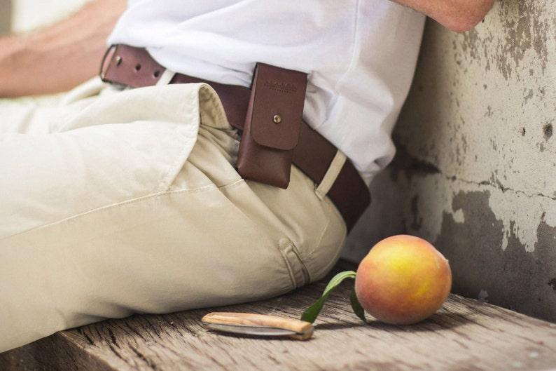 Leather Pocket Knife Sheath image 0