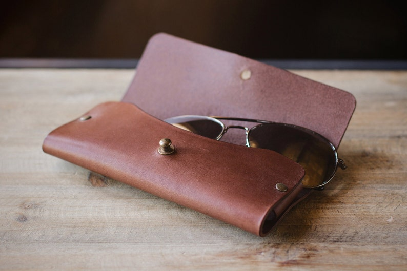 Leather Glasses Case image 0