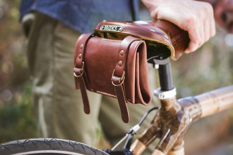 Leather Bike Tool kit Roll image 0