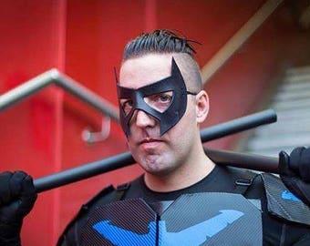 Masque en cuir Nightwing