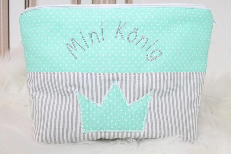 diaper bag for boys diaper bag for on the move diaper bag with crown Diaper bag with name diaper bag for girls