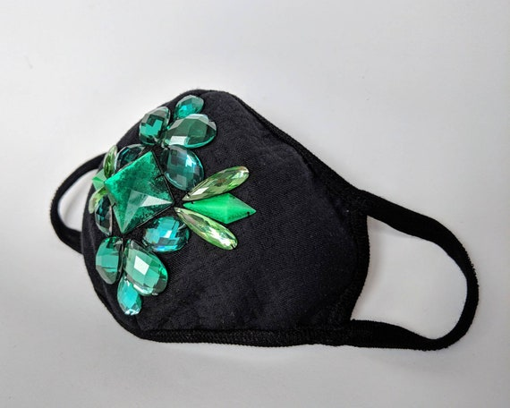 emerald surgical mask