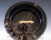 LABELLED V Nason C Murano Aventurine Glass Bowl Ashtray