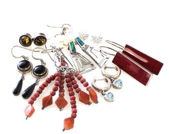 Retro Jewelry Group Earrings WHOLESALE Bulk Buy Lot brooch 5 pieces pendant necklace bracelet Job lot 57