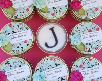 Mint To Be | Mint Wedding Favors | Mint Baby Shower | Mint Wedding | Pink Floral Bridal Shower | Mint Bridal Shower | Personalized Favors