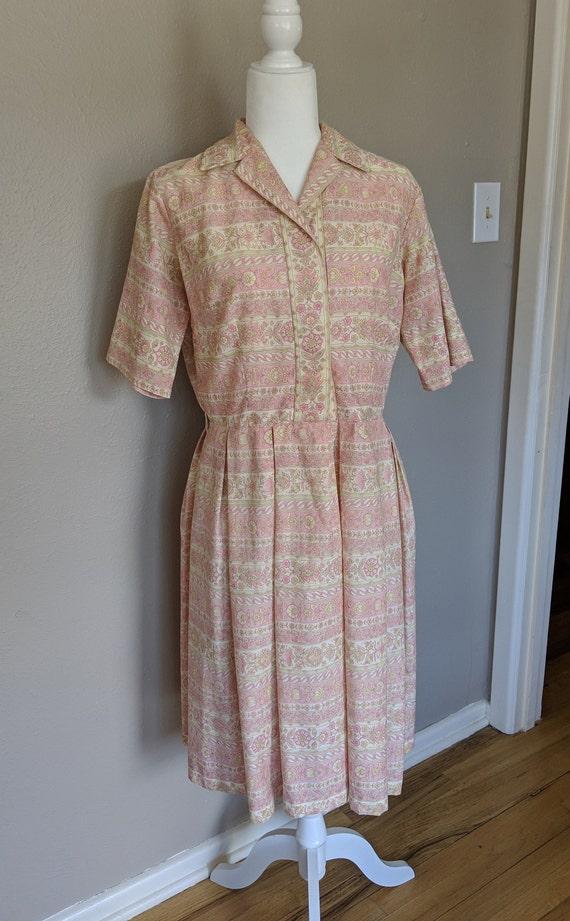 Darling 1950's Shirtwaist Dress