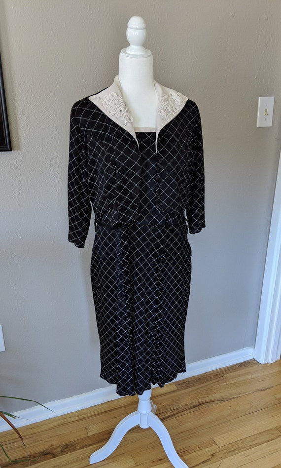 1950's Two Piece Dress Set