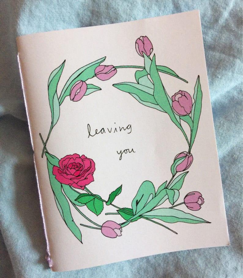 Leaving you  zine  Lovestruck prints  fanzine image 0