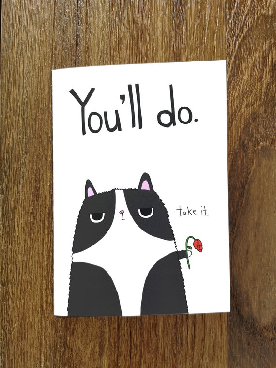 Lustige Valentinstag Karte Anti Valentinstagskarte Etsy