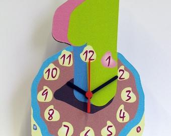 Clock | First Birthday