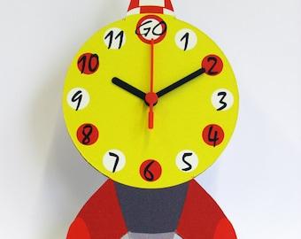 Clock | Rocket