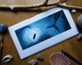 The Wild Water A3 giclee print
