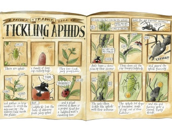 Tickling Aphids A3 giclee print