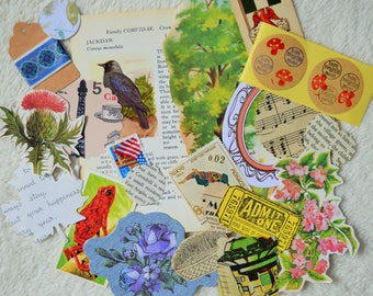 Snail Mail Paper Ephemera Grab Bags