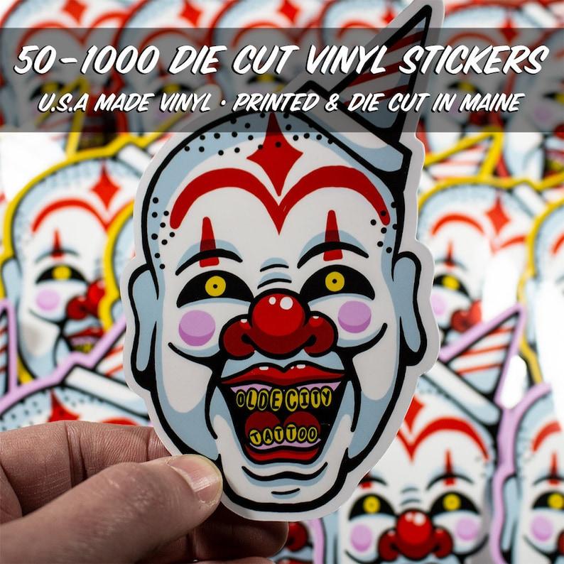 image relating to Printable Vinyl Stickers referred to as Custom made Die Lower Sticker Printing, Slash toward Condition, Vinyl Stickers, 50-1000