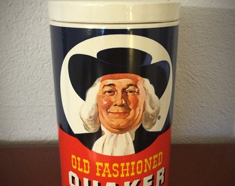 Vintage Quaker Oats Cookie Jar Regal China with Original Letter