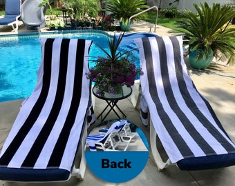 Sensational Beach Chair Towel Etsy Alphanode Cool Chair Designs And Ideas Alphanodeonline