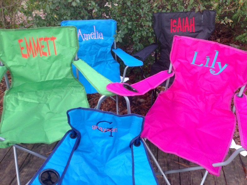 Personalized Folding Chair Beach Chair Lawn Chair Bag Etsy