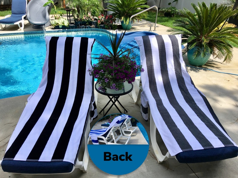 Personalized Lounge Chair Cover, Beach Chair Cover, Pool Chair Cover,  Chaise Cover, Chaise Lounge Cover, Lounge Chair Towel, Beach Towel