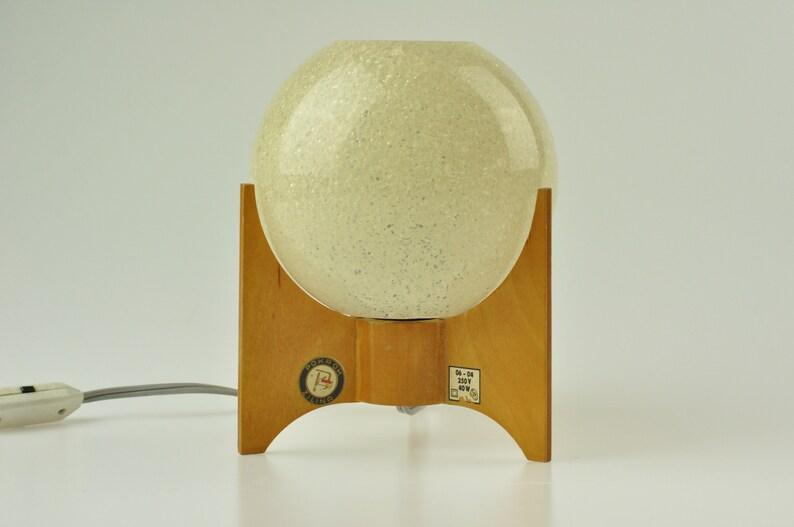 Table Lamp Desk Lamp Chrome Lamp Desk Wooden Lamp Wooden Lamp Mid Century Desk Lamp Bedside Lamp Table Light Mid Century Lamp
