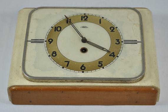 Uhr Küche | Prim Wanduhr Mechanische Uhr Holzerne Uhr Kuche Hahn Prim Etsy