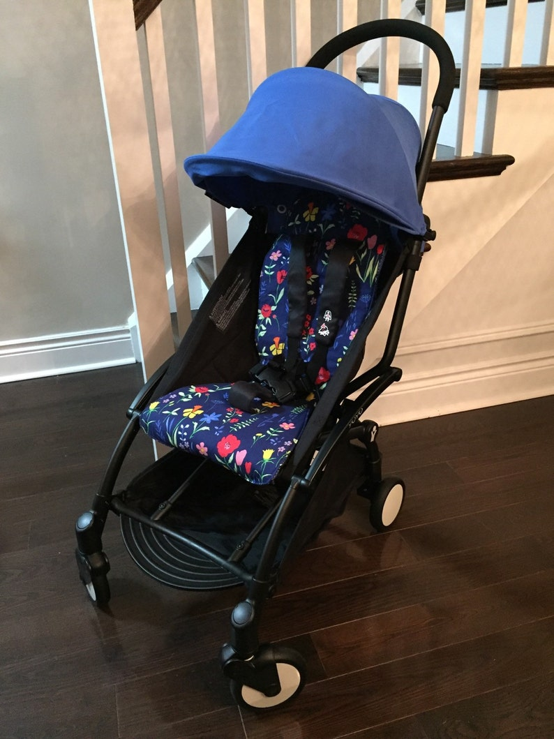 Custom Babyzen Yoyo Stroller Liner Reversible  any colour image 0