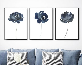 Navy Blue Wall Art Etsy,Simple South Indian Baby Shower Decorations