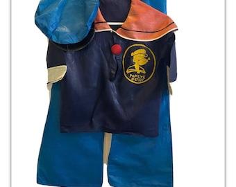 Vintage Halco Masquerade Popeye Costume