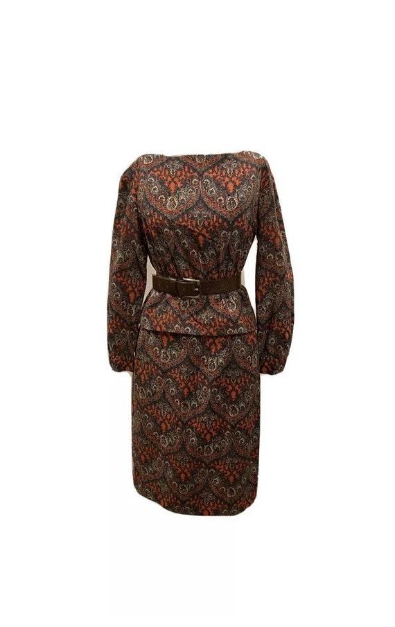 Vintage 60s Skirt Set