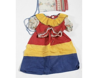 Vintage Halco Masquerade Gypsy Romany Halloween Costume Skirt/Top/Headpiece
