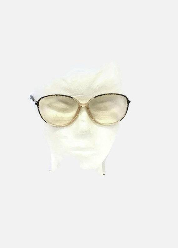 Vintage 70s Silhouette Eyeglasses / Oversized eyeg